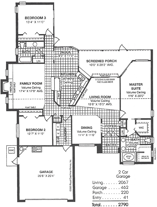 Royal Oxford Floorplan