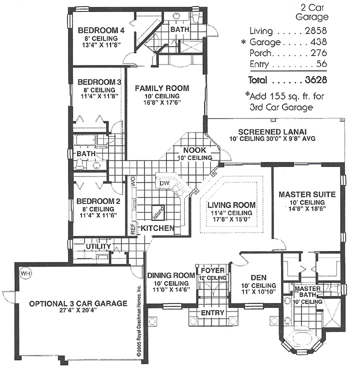Royal Pennington Floorplan